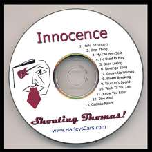 Shouting Thomas!: Innocence, CD