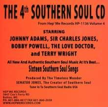 4th Southern Soul Cd-Vol-Four / Various: 4th Southern Soul Cd-Vol-Four / Various, CD