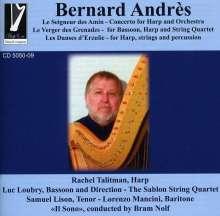 "Bernard Andres (geb. 1941): Harfenkonzert ""Le Seigneur des Amin"", CD"