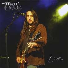 Matt O'Ree: Live (CD + DVD), 1 CD und 1 DVD