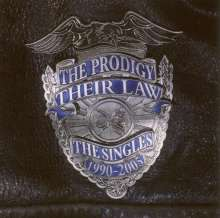 The Prodigy: Their Law - The Singles 1990-2005 (Silver Vinyl), 2 LPs