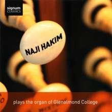 Naji Hakim spielt die Orgel des Glenalmond College, CD