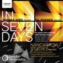 Thomas Ades (geb. 1971): In Seven Days für Klavier & Orchester, 1 CD und 1 DVD