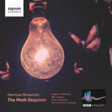 "Harrison Birtwistle (geb. 1934): Chorwerke ""The Moth Requiem"", CD"