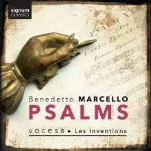 """Benedetto Marcello (1686-1739): Psalmen Nr.11, 32, 46, 50 aus """"Estro poetico-armonico"""", CD"""