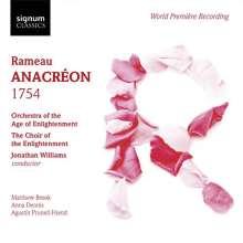 Jean Philippe Rameau (1683-1764): Anacreon (Acte de ballet / 1754), CD