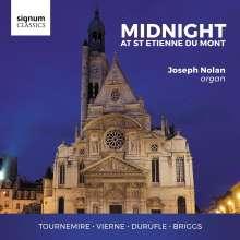 Joseph Nolan - Midnight At St. Etienne Du Mont, CD