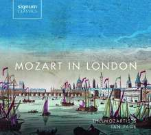 Mozart in London, 2 CDs