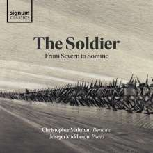 Christopher Maltman - The Soldier from Severn to Somme, CD
