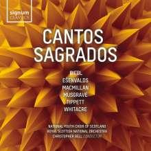National Youth Choir of Scotland - Cantos Sagrados, CD