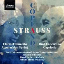 Ernst Ottensamer - Strauss / Copland, CD