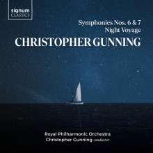 Christopher Gunning (geb. 1944): Symphonien Nr.6 & 7, CD