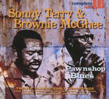 Sonny Terry & Brownie McGhee: Pawnshop Blues, CD