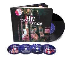 """The Pretty Things: The Final Bow (Limited Deluxe Hardcover Book), 2 CDs, 2 DVDs und 1 Single 10"""""""