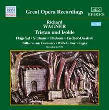 Richard Wagner (1813-1883): Tristan und Isolde, 4 CDs