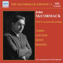 John McCormack-Edition Vol.2/The Acoustic Recordings 1910/11, CD