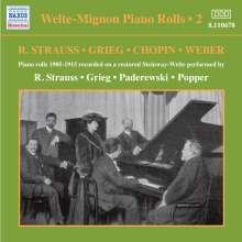 Welte-Mignon - Piano Rolls Vol.2 1905-1915, CD