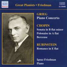 Ignaz Friedman - Complete Recordings Vol.2, CD