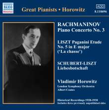 Vladimir Horowitz - The First Recordings, CD