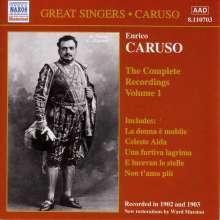 Enrico Caruso:The Complete Recordings Vol.1, CD