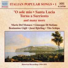 Italian Popular Songs Vol.1, CD