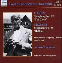 """Joseph Haydn (1732-1809): Symphonie Nr.101 """"Die Uhr"""", CD"""