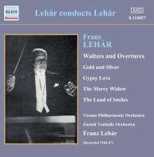 Franz Lehar (1870-1948): Lehar dirigiert Lehar, CD