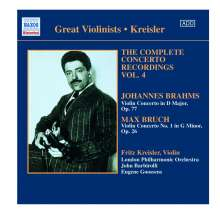 Fritz Kreisler - Complete Concerto Recordings Vol.4, CD