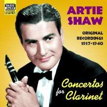 Artie Shaw (1910-2004): Concertos For Clarinet, CD