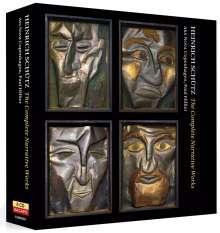 Heinrich Schütz (1585-1672): Geistliche Werke - The Complete Narrative Works, 4 CDs