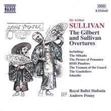 Arthur Sullivan (1842-1900): Ouvertüren, CD