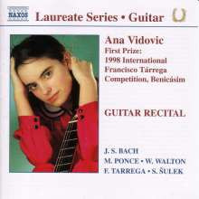Ana Vidovic - Guitar Recital, CD