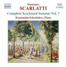 Domenico Scarlatti (1685-1757): Klaviersonaten Vol.7, CD