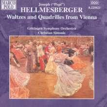 Joseph Hellmesberger jr. (1855-1907): Walzer & Quadrillen, CD
