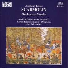 Anthony Louis Scarmolin (1890-1969): Orchesterwerke, CD