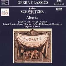 Anton Schweitzer (1735-1787): Alceste (Singspiel in 5 Akten), 2 CDs
