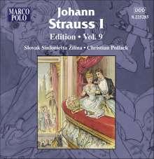 Johann Strauss I (1804-1849): Johann Strauss Edition Vol.9, CD