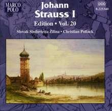 Johann Strauss I (1804-1849): Johann Strauss Edition Vol.20, CD