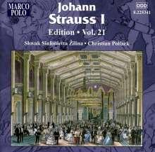 Johann Strauss I (1804-1849): Johann Strauss Edition Vol.21, CD