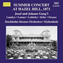 Stockholm Strauss Orchestra - Summer Concert At Hazel Hill 1871, CD