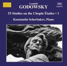 Leopold Godowsky (1870-1938): 53 Studien über die Etüden von Chopin Vol.1, CD