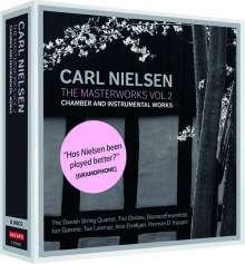 Carl Nielsen (1865-1931): Carl Nielsen - Masterworks 2:Kammer- & Instrumentalmusik, 6 CDs