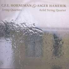 Christian E.F. Horneman (1840-1905): Streichquartette Nr.1 & 2, CD