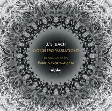 Johann Sebastian Bach (1685-1750): Goldberg-Variationen BWV 988 für Blockflöte,Saxophon & Percussion (Recomposed by Peter Navarro-Alonso), CD