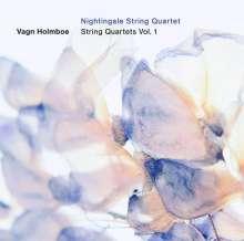 Vagn Holmboe (1909-1996): Sämtliche Streichquartette Vol.1, CD