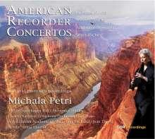 Michala Petri - American Recorder Concertos, CD