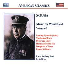 John Philip Sousa (1854-1932): Music for Wind Band Vol.1, CD