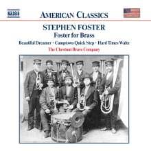 Stephen Collins Foster (1826-1864): Foster for Brass (27 Song-Arrangements für Blechbläser), CD