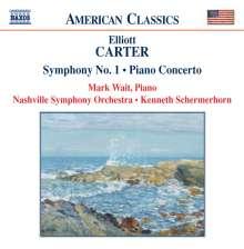Elliott Carter (1908-2012): Symphonie Nr.1, CD