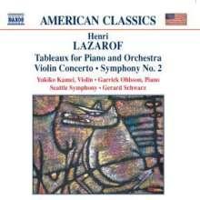 Henri Lazaroff (1932-2013): Symphonie Nr.2, CD